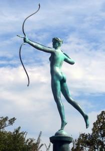 Diana by Augustus Saint-Gaudens