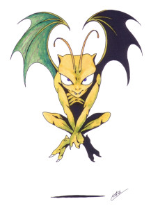 An Imp as it appears in Shin Megami Tensei